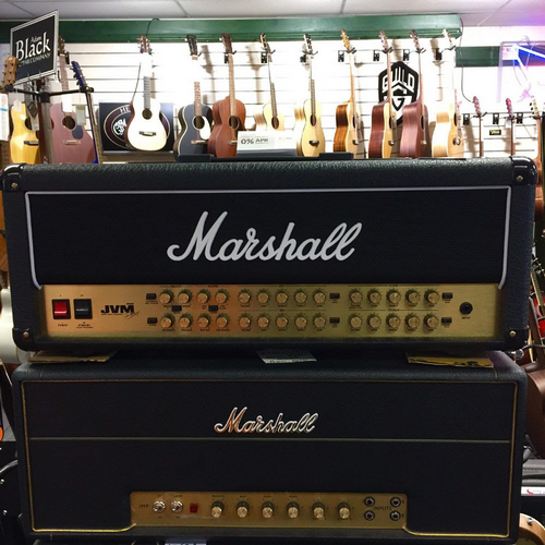 Marshall JVM410H 100 Watt All Valve Head 4 Channel